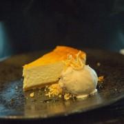 Wine School of Cheshire baked orange cheesecake