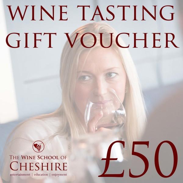 wine school cheshire voucher 50