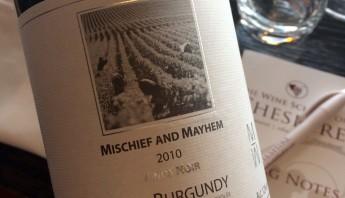 Mischief & Mayhem Red Burgundy