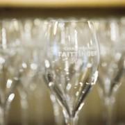Wine School at Grosvenor (close up Taittinger glass)